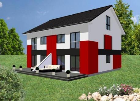 Holzhaus ...individuell geplant ! - Geradlinig, funktional und wandelbar mal zwei - www.jk-traumhaus.de
