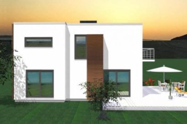 ...individuell geplant ! - Großzügige Villa im Bauhausstil mit integrierter Garage und Dachterrasse - www.jk-traumhaus.de - grundriss dg