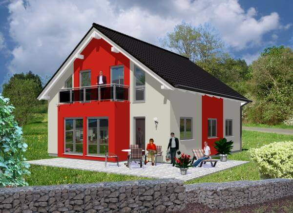 individuell geplant harmonie und anspruch f r die gr ere familie. Black Bedroom Furniture Sets. Home Design Ideas