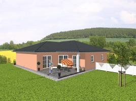 ...individuell geplant ! - Hübscher Winkelbungalow  - www.jk-traumhaus.de