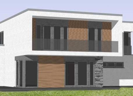 Luxushaus ...individuell geplant ! - Imposantes Bauhaus mit interessanter Fassadengestaltung - www.jk-traumhaus.de