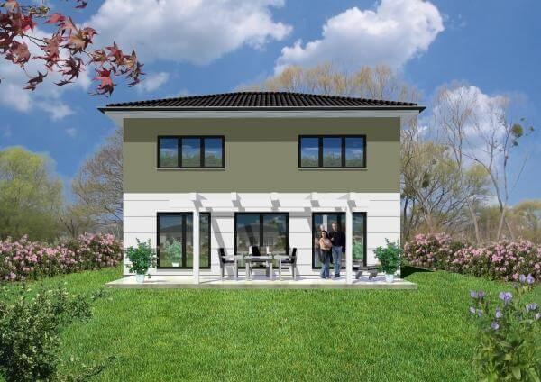 individuell geplant klassische stadtvilla mit modernen elementen. Black Bedroom Furniture Sets. Home Design Ideas