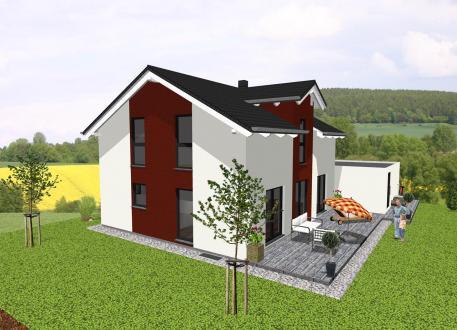 Stadthaus ...individuell geplant ! - Klassisches Einfamilienhaus mit modernen Details - www.jk-traumhaus.de