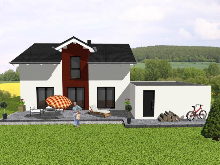Individuell geplant klassisches einfamilienhaus for Klassisches einfamilienhaus
