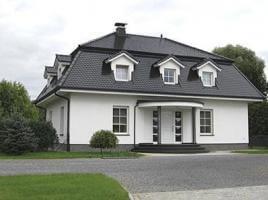 ...individuell geplant ! - Kleine Mansarddachvilla im Stil der Grossen - www.jk-traumhaus.de