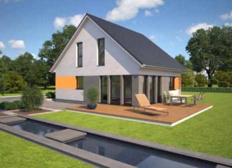 bis 200.000 € ...individuell geplant ! - Kompaktes Einfamilienhaus für die junge Familie - www.jk-traumhaus.de