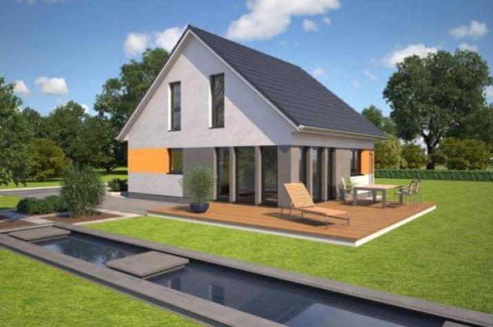 individuell geplant kompaktes einfamilienhaus f r die junge familie. Black Bedroom Furniture Sets. Home Design Ideas