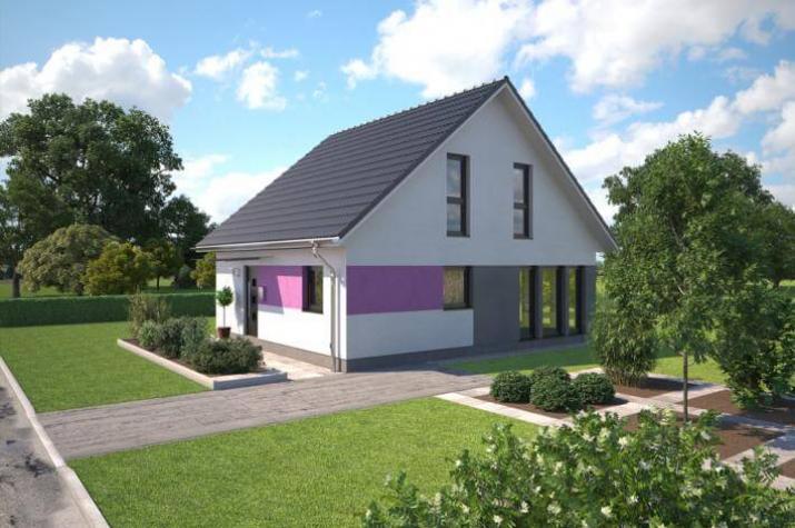 ᐅ ...individuell geplant ! - Kompaktes Haus mit Charme und ...