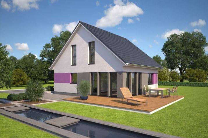 ...individuell geplant ! - Kompaktes Haus mit Charme und lichtdurchflutetem Ambiente - www.jk-traumhaus.de -