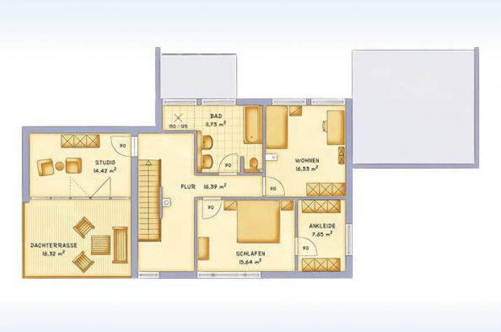 Delightful Kubische Villa Im Bauhausstil Mit Dachterrasse Und Doppelcarport ...