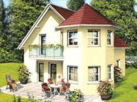 ...individuell geplant ! - Landhaus mit Türmchen - www.jk-traumhaus.de