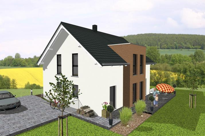 ...individuell geplant ! - Lichtdurchflutetes, modernes Einfamilienhaus - www.jk-traumhaus.de -