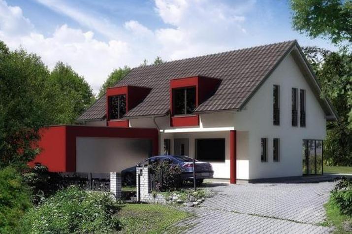individuell geplant lichtdurchflutetes modernes einfamilienhaus. Black Bedroom Furniture Sets. Home Design Ideas