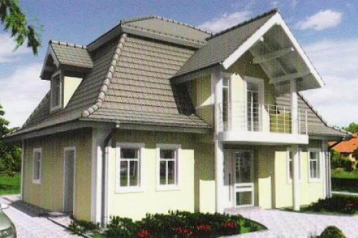 individuell geplant mansarddachvilla mit vielf ltigen stilelementen. Black Bedroom Furniture Sets. Home Design Ideas
