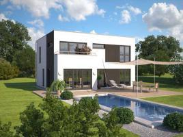 ...individuell geplant ! - Markante Bauhausvilla - Wohnen in zeitloser Moderne - www.jk-traumhaus.de