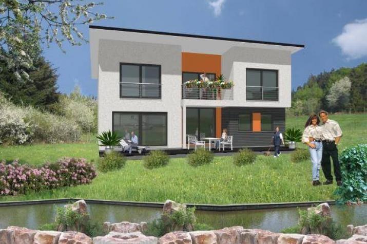 ...individuell geplant ! - Markante Designkomposition für gehobene Ansprüche - www.jk-traumhaus.de -