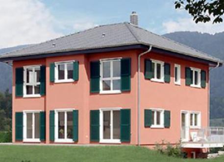 Zweifamilienhaus ...individuell geplant ! - Mediterranes Zweifamilienhaus mit Erkern - www.jk-traumhaus.de