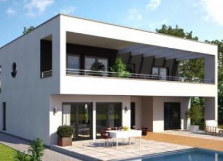 Designerhaus ...individuell geplant ! - Mehr draußen als drinnen - das Freiluft-Bauhaus - www.jk-traumhaus.de