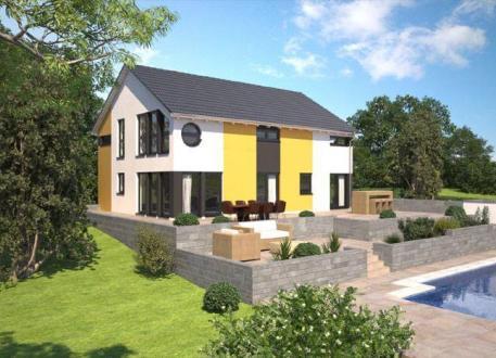 Zweifamilienhaus ...individuell geplant ! - Moderne Architektur für zwei - www.jk-traumhaus.de
