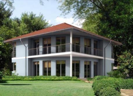 Stadthaus ...individuell geplant ! - Moderne Stadtvilla mit interessanter Formgebung - www.jk-traumhaus.de