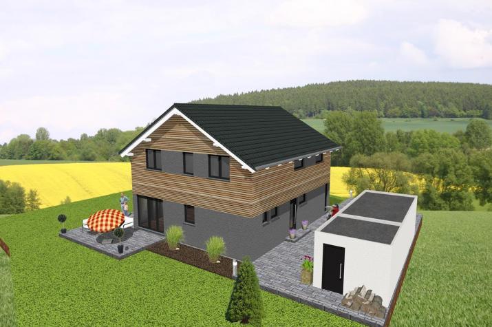 ...individuell geplant ! - Modernes Einfamilienhaus - www.jk-traumhaus.de -