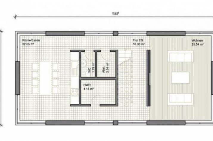 Individuell geplant modernes einfamilienhaus mit for Reihenhaus grundriss modern