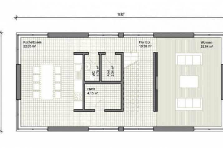 Individuell geplant modernes einfamilienhaus mit for Grundriss modernes einfamilienhaus