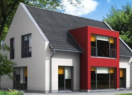 Sonstige Häuser ...individuell geplant ! - Modernes Einfamilienhaus mit interessantem Erker - www.jk-traumhaus.de