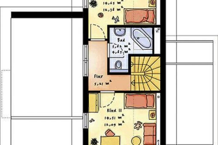 individuell geplant modernes pultdachhaus mit putz klinker fassade. Black Bedroom Furniture Sets. Home Design Ideas