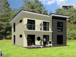 ...individuell geplant ! - Modernes Pultdachhaus mit Winkelanbau - www.jk-traumhaus.de