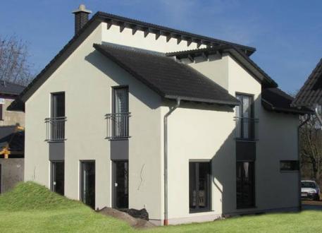 Designerhaus ...individuell geplant ! - Pultdach-Einfamilienhaus - perfektes Design und Symetrie in Vollendung - www.jk-traumhaus.de