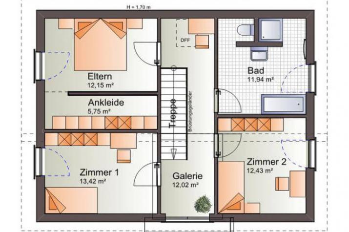individuell geplant pultdach einfamilienhaus perfektes design und symetrie in. Black Bedroom Furniture Sets. Home Design Ideas