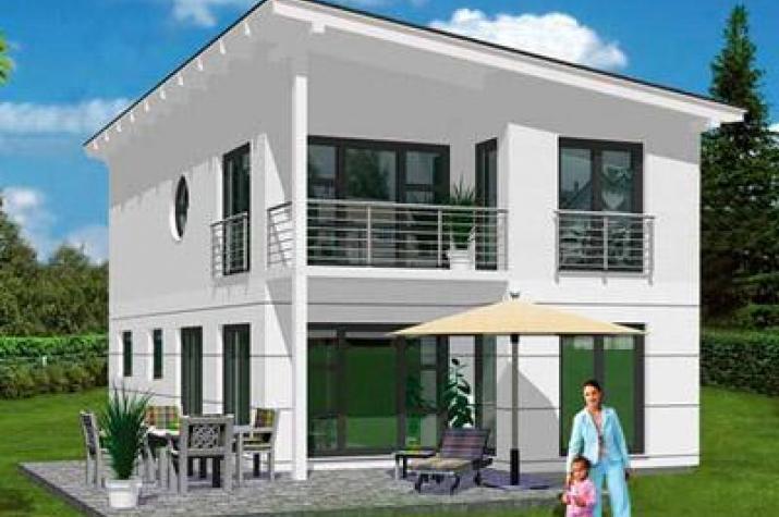 Musterhaus modern pultdach  ᐅ Sonstige Häuser