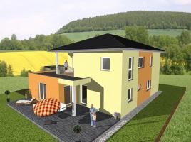 ...individuell geplant ! - Stadtvilla mit Gewerbeanteil - www.jk-traumhaus.de