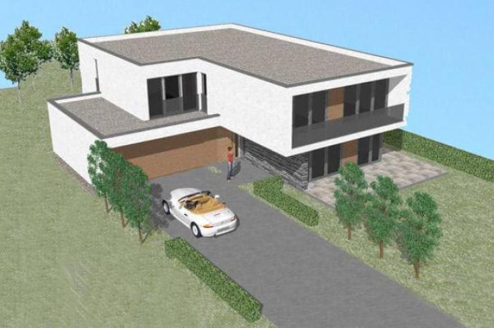 ...individuell geplant ! - Unendlich viel Platz mit Bauhausambiente - www.jk-traumhaus.de -