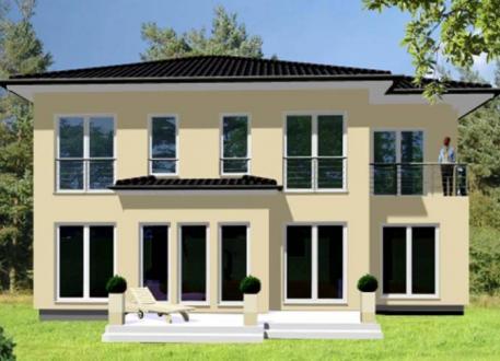 ...individuell geplant ! - Wandelbare Stadtvilla mit integrierter Garage - www.jk-traumhaus.de