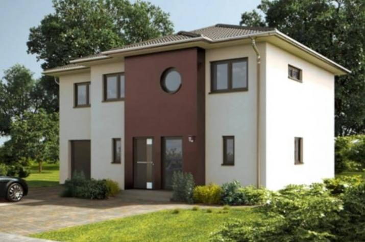 wandelbare stadtvilla mit integrierter garage jk traumhaus. Black Bedroom Furniture Sets. Home Design Ideas