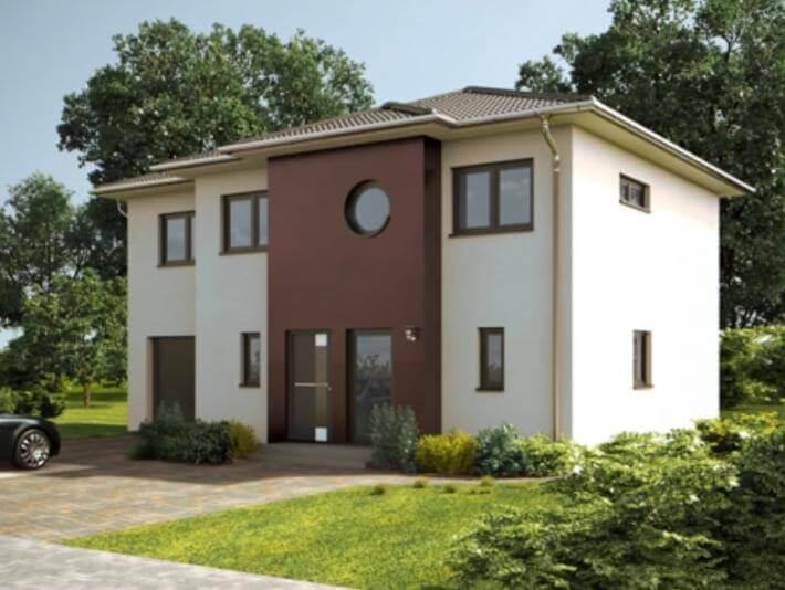 wandelbare stadtvilla mit integrierter garage. Black Bedroom Furniture Sets. Home Design Ideas