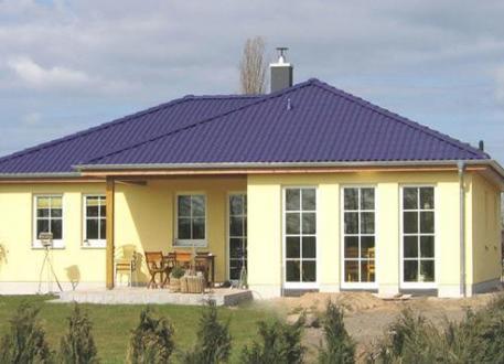 Winkelbungalow ...individuell geplant ! - Winkelbungalow - viele Zimmer - symetrische Bauweise - überdachte Terrasse - www.jk-traumhaus.de