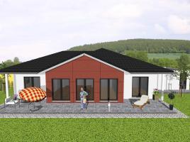 ...individuell geplant ! - Winkelbungalow mit Erker - www.jk-traumhaus.de