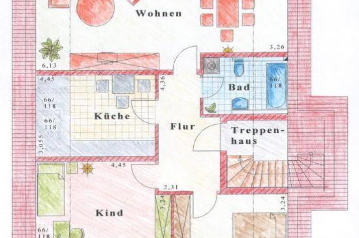 ...individuell geplant ! - Zweifamilienhaus, darf es ein Zimmer mehr sein. Viel Platz für  zwei Familien - www.jk-traumhaus.de - grundriss dg