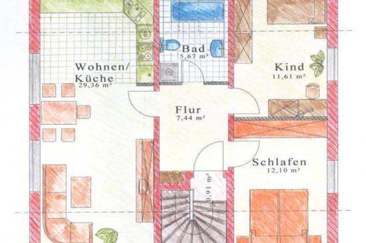 individuell geplant zweifamilienhaus zwei generationen unter einem dach. Black Bedroom Furniture Sets. Home Design Ideas