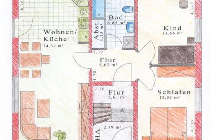...individuell geplant ! - Zweifamilienhaus, zwei Generationen unter einem Dach - Zweifamilienhaus - www.jk-traumhaus.de - grundriss eg