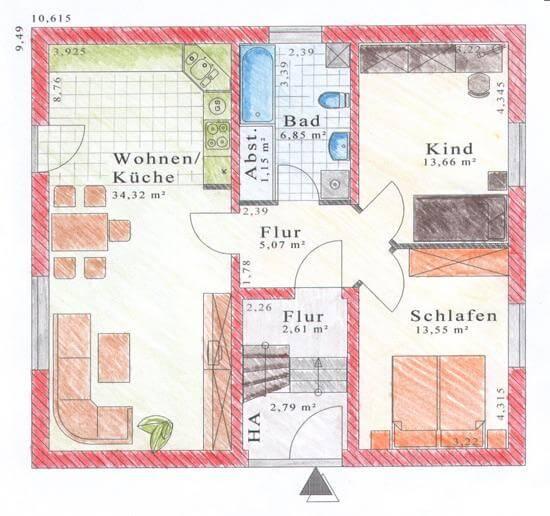 zweifamilienhaus zwei generationen unter einem dach jk traumhaus. Black Bedroom Furniture Sets. Home Design Ideas