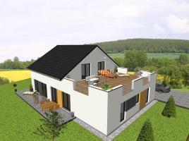 ...individuell geplant ! -Generationshaus mit Dachterrasse - www.jk-traumhaus.de