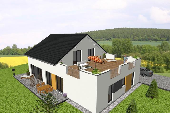 Jk Traumhaus ᐅ individuell geplant generationshaus mit dachterrasse