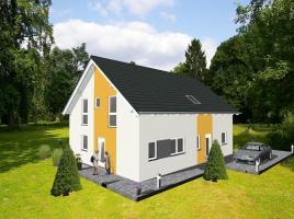 ...individuell geplant ! Klassische Architektur für zwei  - www.jk-traumhaus.de