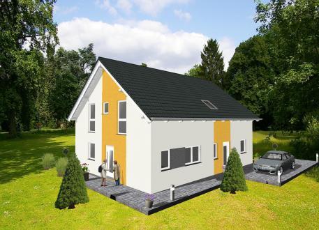 Zweifamilienhaus ...individuell geplant ! Klassische Architektur für zwei - www.jk-traumhaus.de
